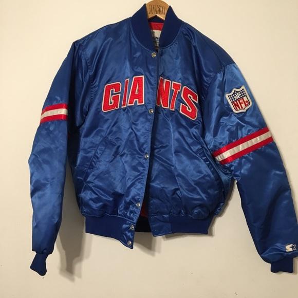 73aa18f07 Starter New York Giants Jacket Vintage 1990. M 5a89ffff2ab8c51ec47c45a6